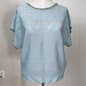 Vintage Delicately Knit Top